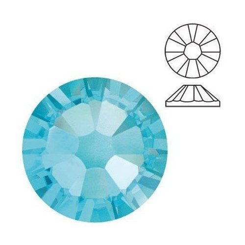 CRISTAL AQUAMARINE 100 UDS - 1,8 mm
