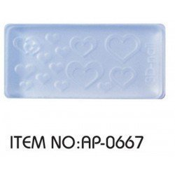 MOLDE 3D SILICONA Nº667