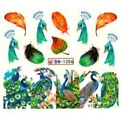 ANIMAL STICKERS AL AGUA - 1206