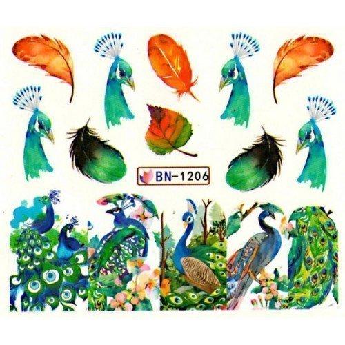 ANIMAL STICKERS AL AGUA - 1206