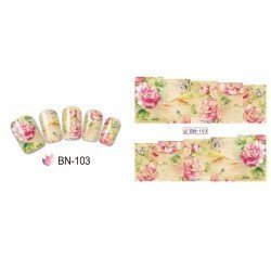 FLOWERS STICKERS AL AGUA - 103