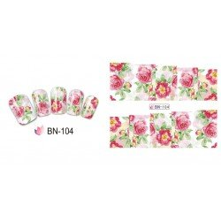 FLOWERS STICKERS AL AGUA - 104