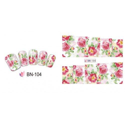 FLOWERS STICKERS AL AGUA - 104