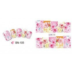 FLOWERS STICKERS AL AGUA - 105