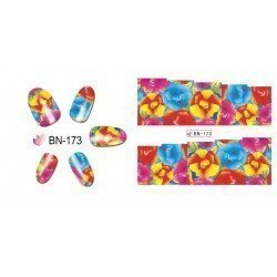 FLOWERS STICKERS AL AGUA - 173