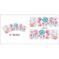FLOWERS STICKERS AL AGUA - 803