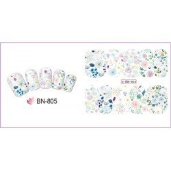 FLOWERS STICKERS AL AGUA - 805