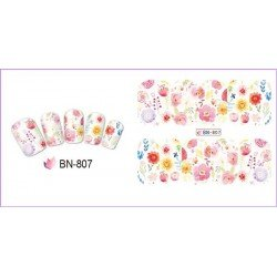 FLOWERS STICKERS AL AGUA - 807