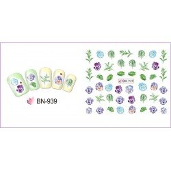 FLOWERS STICKERS AL AGUA - 939
