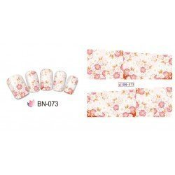 FLOWERS STICKERS AL AGUA - 073