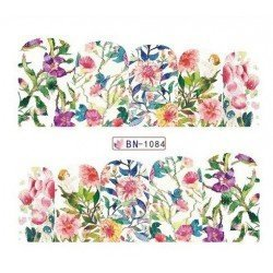 FLOWERS STICKERS AL AGUA - 1084