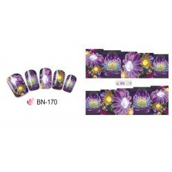 FLOWERS STICKERS AL AGUA - 170