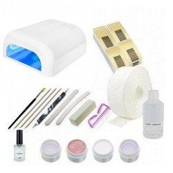 Kit Uñas de Gel - 36W