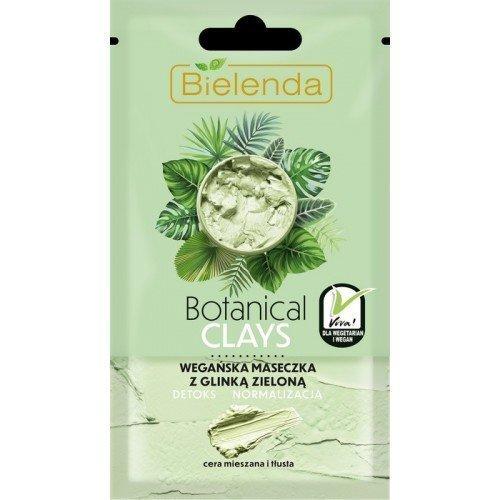 ARCILLA BOTÁNICA MÁSCARA vegana con arcilla verde