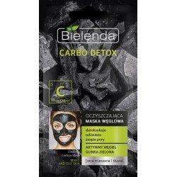 Mascara Facial de carbon 8g Piel Grasa