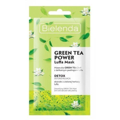 Green Tea Power - mascarilla exfoliante desintoxicante 2 en 1