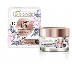 JAPAN LIFT Crema reafirmante concentrado antiarrugas 50+, NOCHE