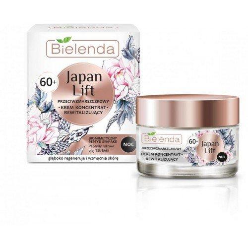 JAPAN LIFT Crema concentradora revitalizante antiarrugas 60+, NOCHE