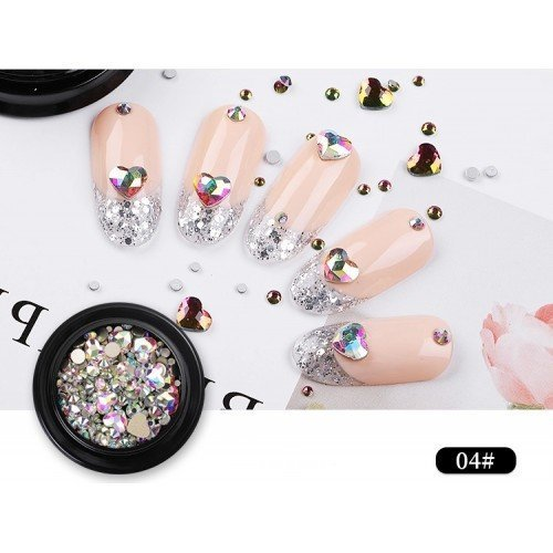 3D nail rhinestone - 04