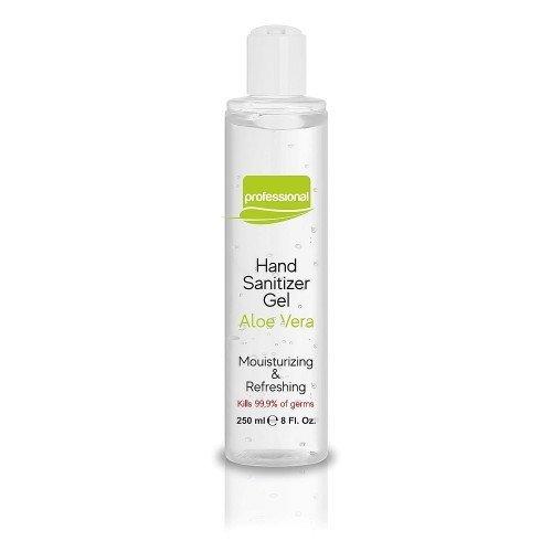 Gel de manos antibacteriano de Aloe 250ml